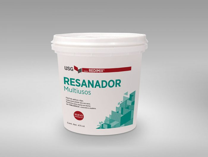 RESANADOR REDIMIX TABLAROCA 475 ML | Plafones e Interiores
